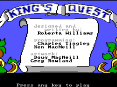 king's quest quest for the crown 1984 intro
