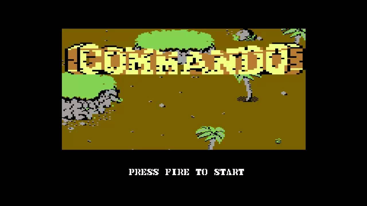 Commando Commodore 64 1985